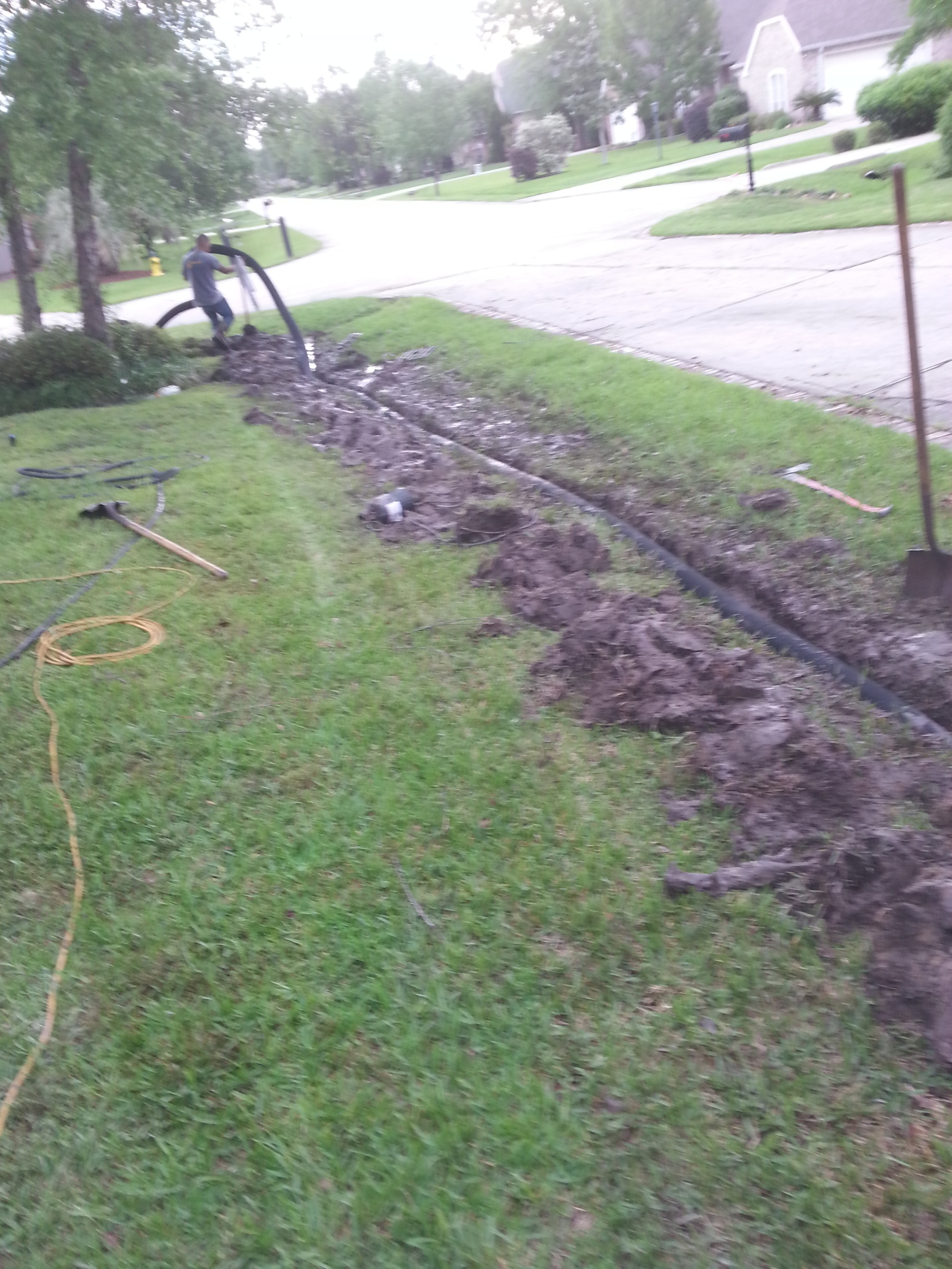 yard drainage,french drain